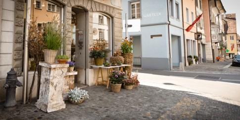 Blumen und Stil Geschäft